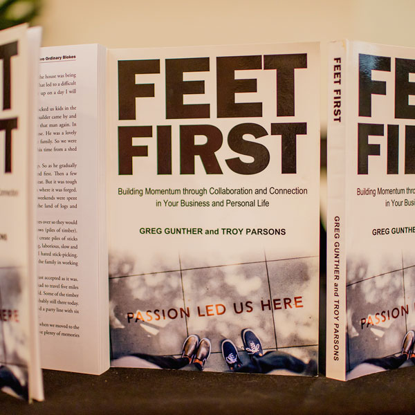 Three Feet First Book Standing